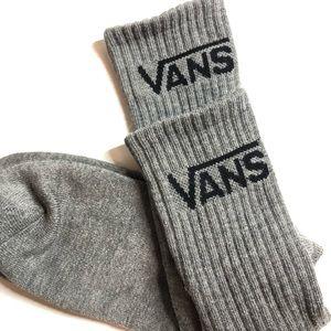 Vans classic crew socks - 1 pair - gray